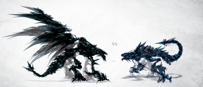 Karnage VS Coldfire by ChasingArtwork
