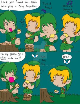 Zelda OoT Comic 42 by Dilly-Oh