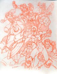 Avengers Next by ToddNauck