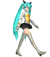 Project Diva Arcade Future Tone Heartbeat Miku by WeFede