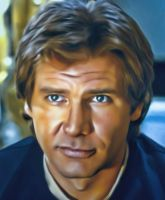Han Solo by Harrison Ford by petnick