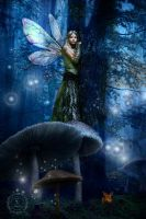 Woodland Fairy by FairieGoodMother