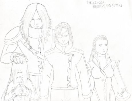The Zenoga Sisters and Brothers by Gwagon