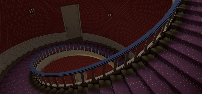 Arendelle Castle Stairs Study by ATSkill