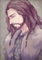 [The Hobbit] Thorin Oakenshield by trackhua