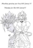 Dragonball AK - Thanks for the 800 Faves!! by TriiGuN