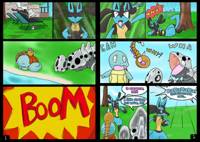 GGComic= It Started With a BOOM! Pg 1-2 by GeneralGibby