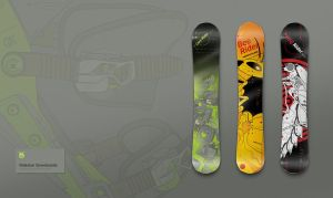 Nidecker Snowboards by Defect303