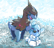 Deino and Cubchoo