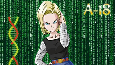 Android 18 wallpaper by MikeDarko