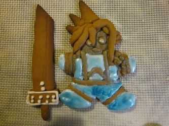Cookie Cloud  -Gingerbread Strife- by omnislash083