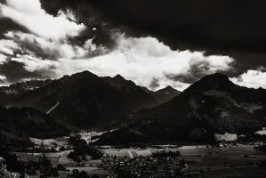 Bayern - before storm by illegalpoet