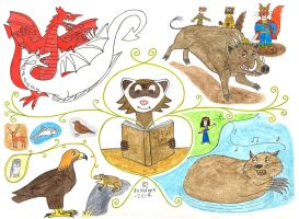 Welsh Myths and Legends by Bushdog4