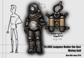 Diving Suit by KidneyShake
