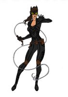 Catwoman Redesign! by Comicbookguy54321