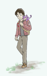 Pokemon Trainer - Fox by Deezer509
