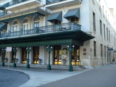The Menger Hotel Front View by YukariOro