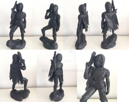 Destiny Character Figure by minoanoa
