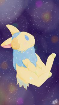 Space Rabbit by Cottonflame27