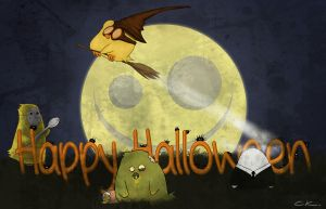 Happy Halloween 2012 by Poticceli