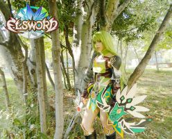 ELSWORD Rena in the wood by LilituhCosplay