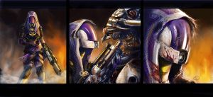 ME3 Ending: Hold the line, Tali! by Ma-rin