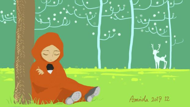 Having a Rest by amrida