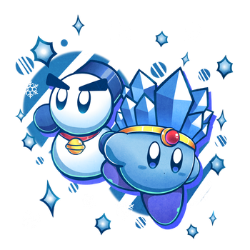 Snow and ice by MegaBuster182