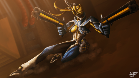 Warframe - Dust and Brown by Anavi-Ivy