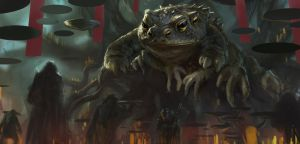 Swamp's Lord - WIP - step1 by Grosnez