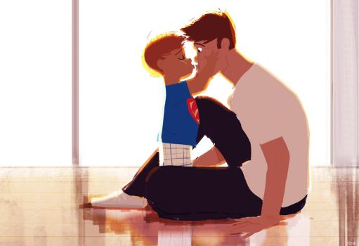 How to give a kiss. by PascalCampion