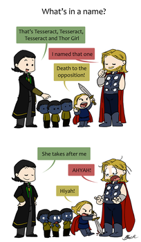 Domestic Avengers 3/3 by caycowa