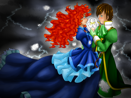 A Viking Romeo and a Scottish Juliet by ElissPendragon