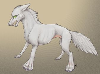 Another Angry Wolf by Wulvie-leigh