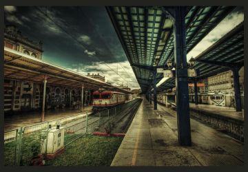 A Train to Nowhere HDR by ISIK5