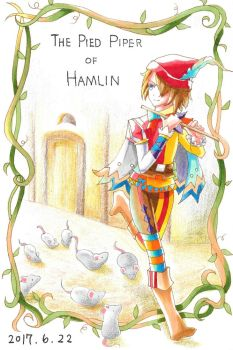 The Pied Piper of Hamelin by HoshinoTaka