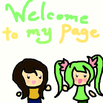 Welcome to my page! by MirabelleLeaf31