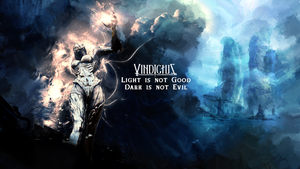 Vindictus - The Light and Dark, DK by DamnedMetal