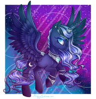 Princess Luna (in my style) by NastyaKatseen