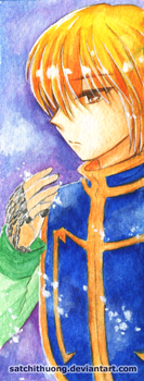 Kurapika bookmark 01 by satchithuong