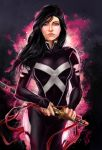 Psylocke - Telepathic Wonder by Forty-Fathoms