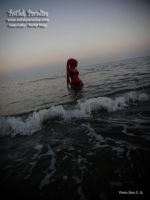 Red Twilek Go To Beach In Twilight by TwilekParadise