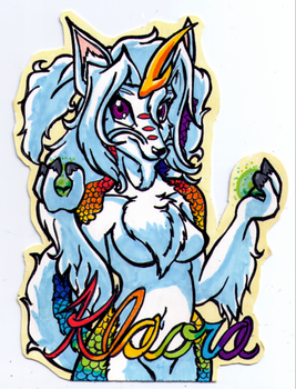 Badge for Klaora by Riatsila