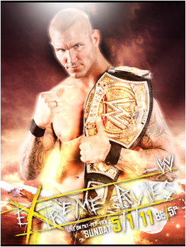 Extremes Rules WWE. by SFX77