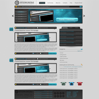 Officina Digitale Homepage by Svengraph