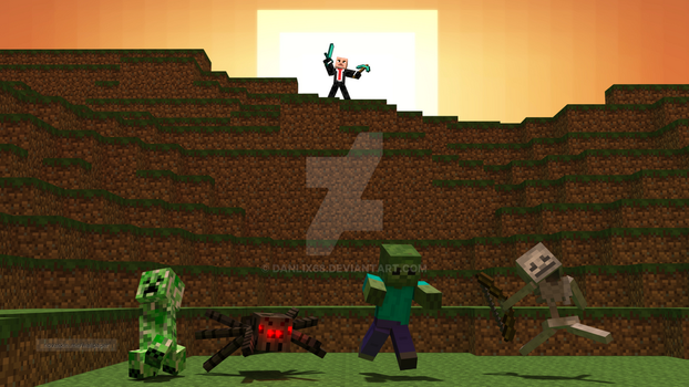 Hitman in minecraft by Danlix68