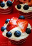 4th of July Cupcakes by brandimillerart