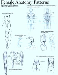 Female Anatomy Patterns by Snigom