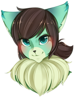 Fursona Headshot by OMGProductions