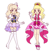 .~Another pair of Pretty Cure cosplayers~. by ThePinkMarioPrincess